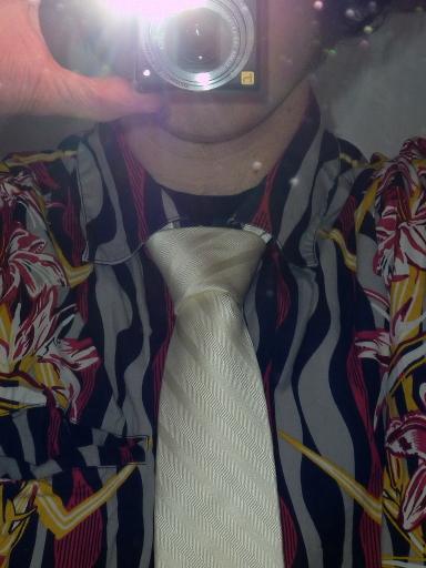Der Krawattenknoten im Detail