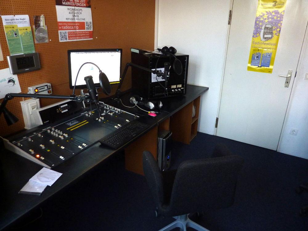 Eines der Studios des Bermudafunk