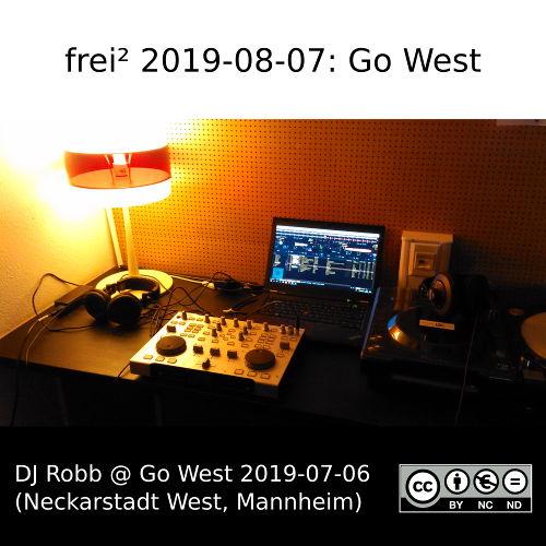 Cover des DJ-Sets »Go West« von DJ Robb