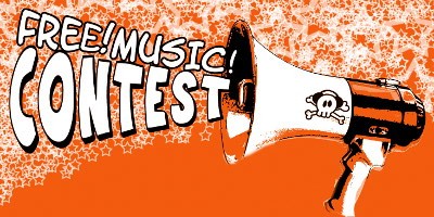 Banner des Free! Music! Contest
