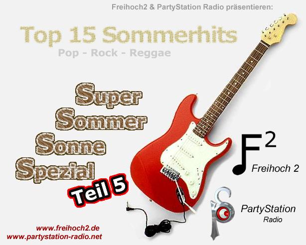 Cover zu Teil5 des Super Sommer Sonne Spezials von PartyStation Radio und frei²