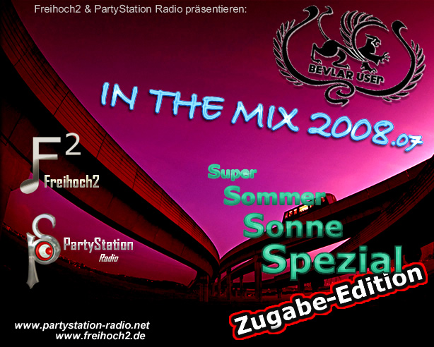 PartyStation Radio und frei² in the Mix: Zugabe zum Super Sommer Sonne Spezial